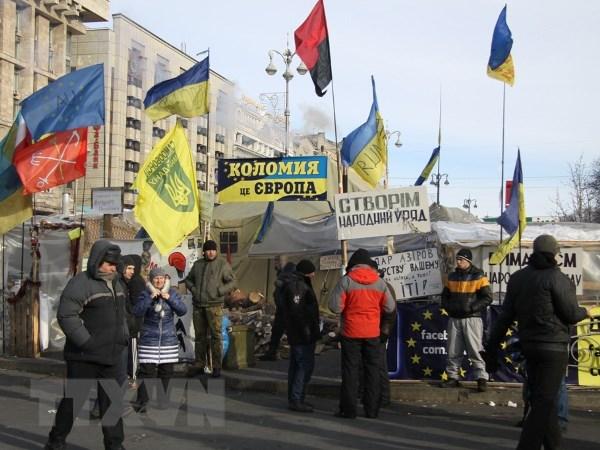 Nga van giam gia khi dot du phe doi lap Ukraine len nam quyen hinh anh 1