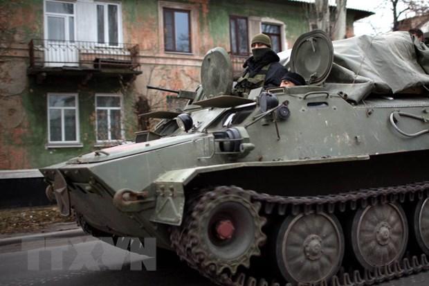 Ukraine tuyen bo tinh hinh an ninh o mien Dong ngay cang xau hinh anh 1