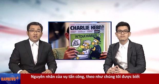 RapNewsPlus28: Suc khoe ong Ba Thanh va vu tan cong Charlie Hebdo hinh anh 1