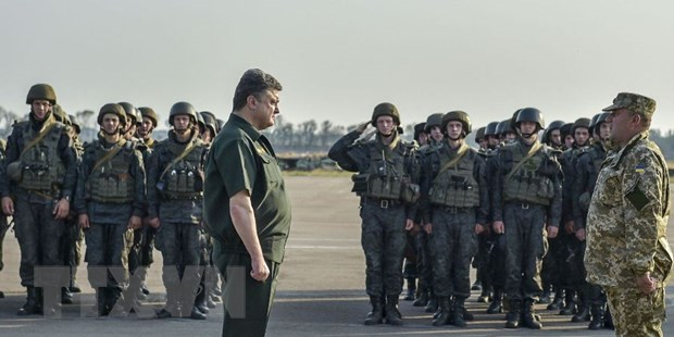 EU hoi thuc Ukraine danh quy che dac biet vinh vien cho Donbass hinh anh 1