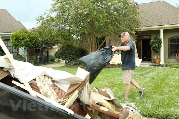 [Photo] Thanh pho Baton Rouge hoang tan sau tran lu lut khung khiep hinh anh 5