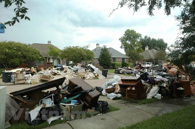 [Photo] Thanh pho Baton Rouge hoang tan sau tran lu lut khung khiep hinh anh 9