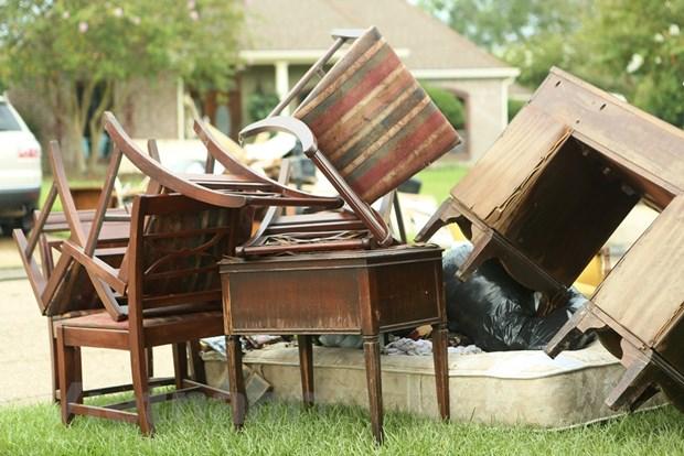 [Photo] Thanh pho Baton Rouge hoang tan sau tran lu lut khung khiep hinh anh 10