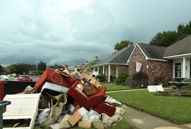 [Photo] Thanh pho Baton Rouge hoang tan sau tran lu lut khung khiep hinh anh 12