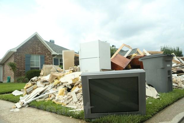 [Photo] Thanh pho Baton Rouge hoang tan sau tran lu lut khung khiep hinh anh 15