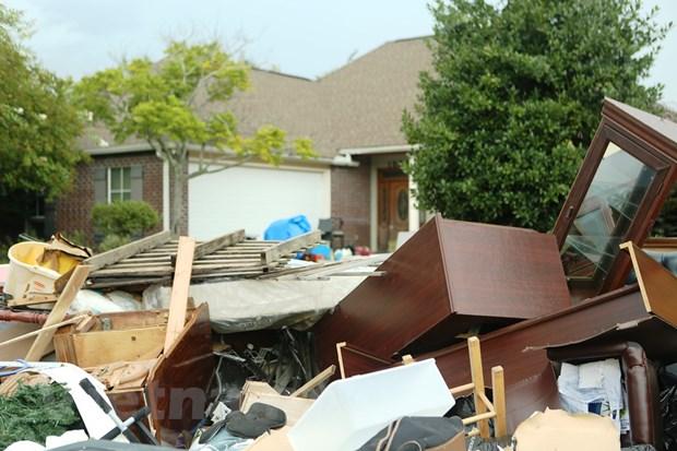 [Photo] Thanh pho Baton Rouge hoang tan sau tran lu lut khung khiep hinh anh 16