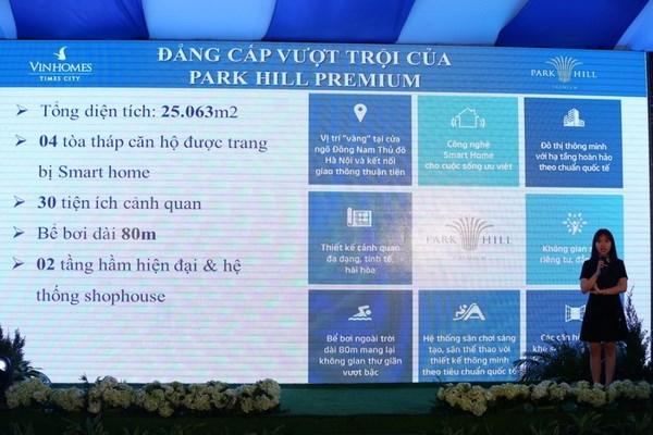 Park Hill Premium thu hut khach hang trong ngay dau mo ban hinh anh 3