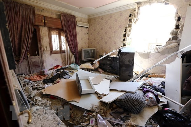 Libya: Luc luong Hoi giao tuyen bo chiem san bay Tripoli hinh anh 1