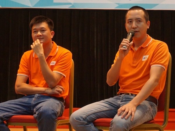CEO tre FPT chia se bi quyet thanh cong voi sinh vien Buu chinh hinh anh 1