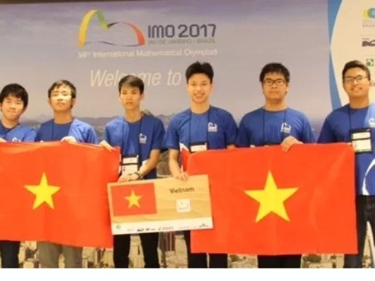 Viet Nam dat thanh tich ky luc trong 43 nam thi Olympic Toan quoc te hinh anh 1