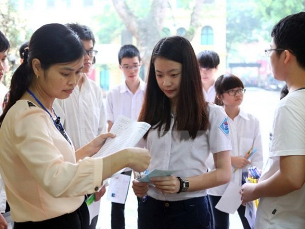 Ha Noi: Bon diem moi trong ky thi vao lop 10 nam hoc 2018-2019 hinh anh 1