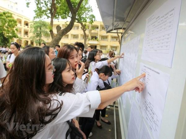 Ha Giang: Thi sinh duoc 'phu phep' tang 29,95 diem so voi diem that hinh anh 1