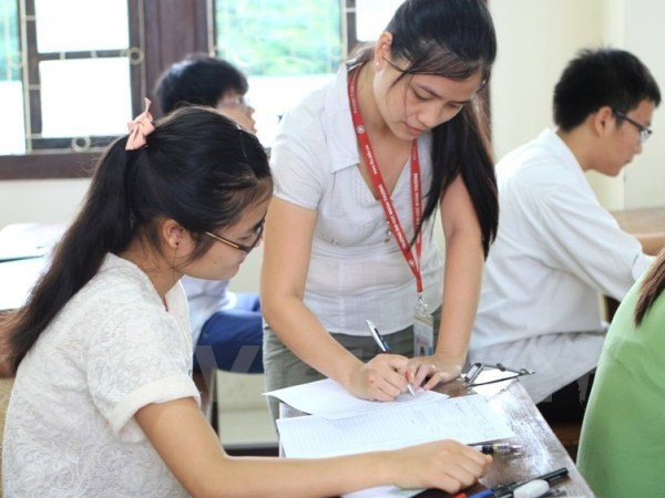 Tuyen sinh dai hoc 2018: Chi can dat 3,5 diem/mon se do? hinh anh 1