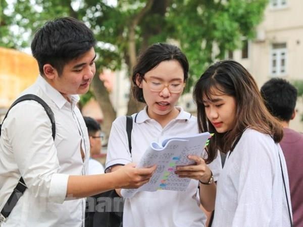 Ky thi Trung hoc pho thong quoc gia 2019 se dien ra tu ngay 24-27/6 hinh anh 1