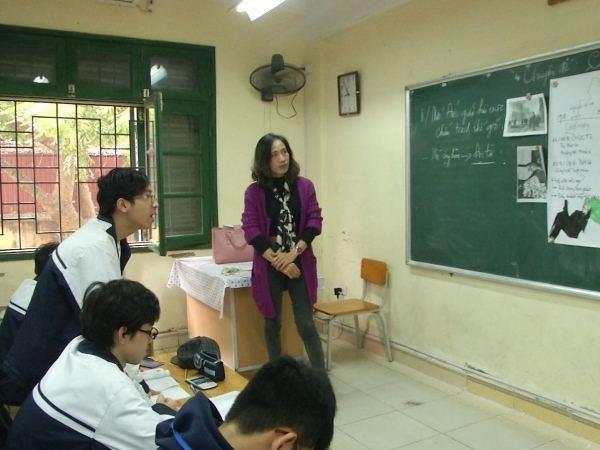 Tăng đào tạo thực hành và kỹ năng cho sinh viên sư phạm, giảm áp lực cho giáo viên là giải pháp để giảm bạo lực học đường. (Ảnh: PM/Vietnam+)