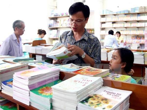 Bộ trưởng Nhạ khẳng định chất lượng hội đồng thẩm định sẽ quyết định chất lượng sách giáo khoa. (Ảnh: TTXVN)
