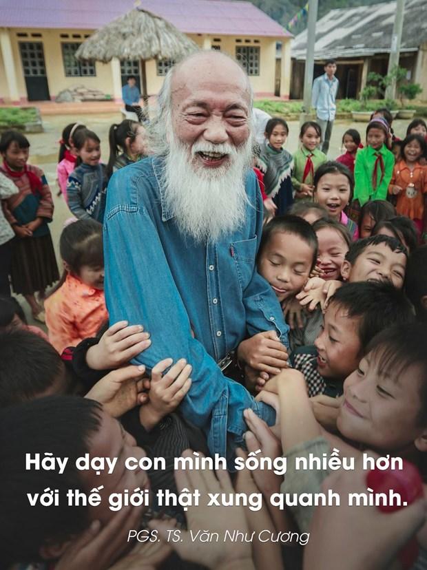 "PGS Van Nhu Cuong: ""Truoc het, cac em phai la nhung nguoi tu te!"" hinh anh 1"