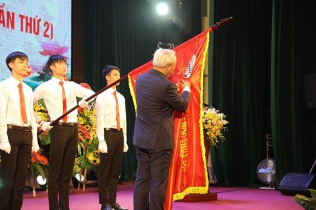 Truong Dai hoc Thuy loi don Huan chuong Lao dong hang Nhat hinh anh 1