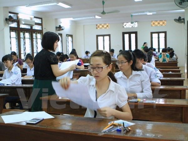Hon 880.000 thi sinh dang ky du thi Tot nghiep trung hoc pho thong hinh anh 1