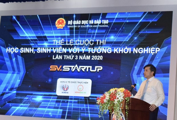 Phat dong cuoc thi Hoc sinh, sinh vien voi y tuong khoi nghiep 2020 hinh anh 1