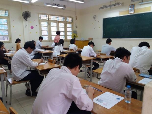 Thi Tot nghiep THPT: Tinh Thai Binh co 7 thi sinh thuoc dien F2 hinh anh 1
