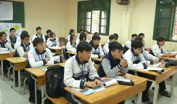 Bo Giao duc: Thay doi quy dinh ve khen thuong hoc sinh sau 32 nam hinh anh 1