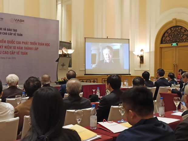 Giao su Nguyen Thien Nhan: Phai hinh thanh he sinh thai toan hoc Viet hinh anh 1