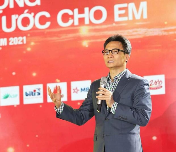 """Phat dong chuong trinh """"Dieu uoc cho em"""" vi hoc sinh vung kho hinh anh 1"""