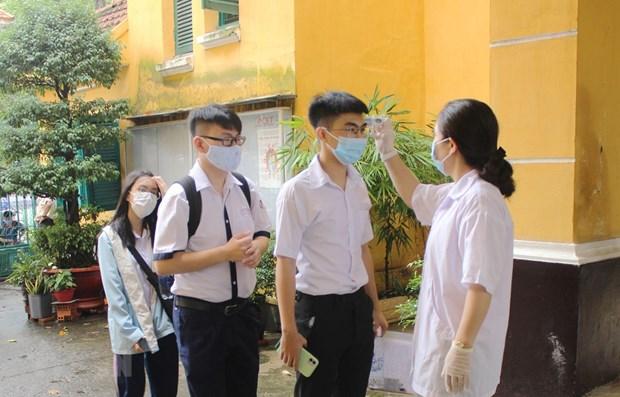 Thi tot nghiep THPT: Gan 50% thi sinh Phu Yen o khu vuc phong toa hinh anh 1