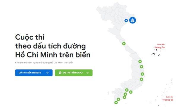 Ra mat hai trinh truc tuyen mo phong duong Ho Chi Minh tren bien hinh anh 1