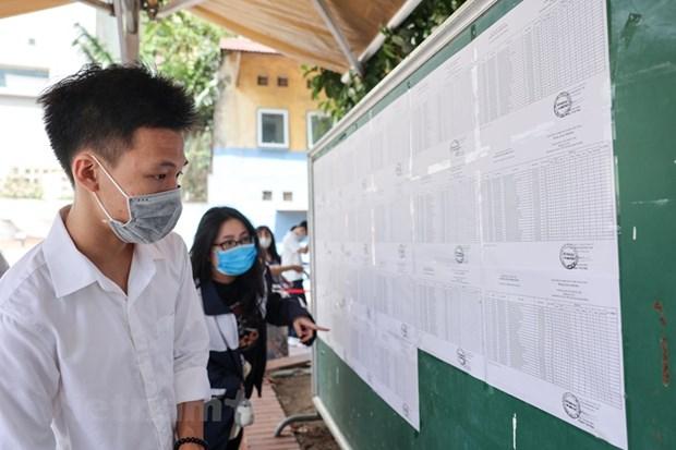 Tuyen sinh nam 2021: Thi sinh dat 30 diem van truot nguyen vong 1 hinh anh 1