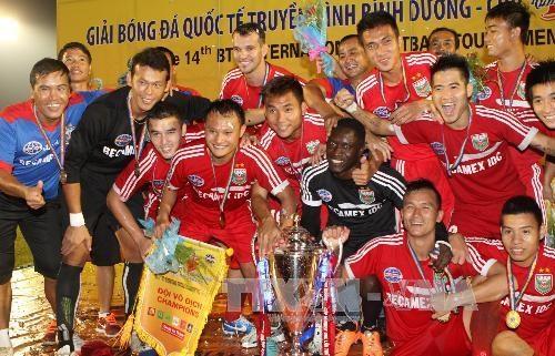 U23 Viet Nam thua sat nut Binh Duong o chung ket BTV Cup hinh anh 2