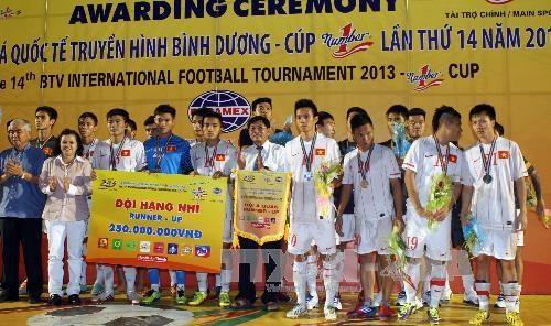 U23 Viet Nam thua sat nut Binh Duong o chung ket BTV Cup hinh anh 1
