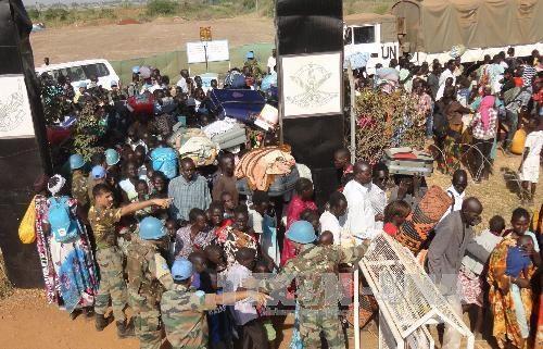 May bay My dinh dan tai Nam Sudan, 3 quan nhan bi thuong hinh anh 1