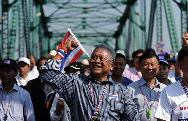 Tong thu ky Lien hop quoc lo doi dau bao luc tai Thai Lan hinh anh 1