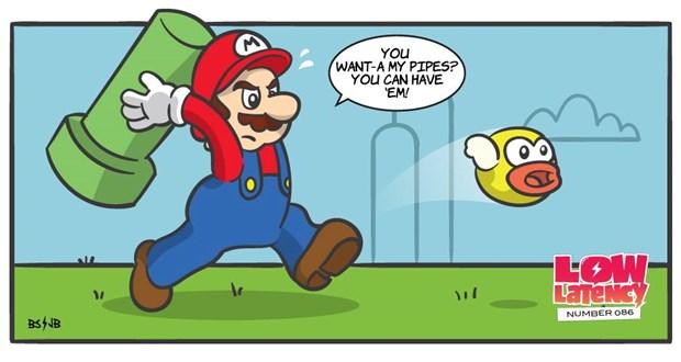 Hang Nintendo len tieng ve game gay sot Flappy Bird hinh anh 1