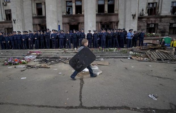 Video ve tham kich tai Odessa khien 38 nguoi thiet mang hinh anh 1