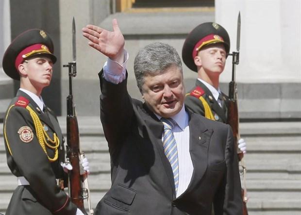 Ngoai truong Duc hoi thuc Ukraine than trong khi su dung vu luc hinh anh 1