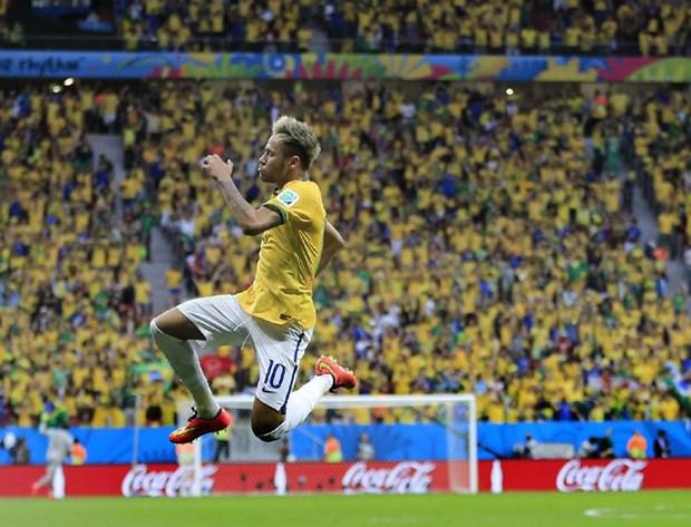 Do hoa 3D cu dup cua Neymar trong tran Brazil ha Cameroon hinh anh 1