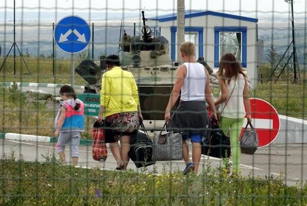 Nga: Bac Kavkaz sap nhan 500 nguoi ti nan tu Ukraine hinh anh 1