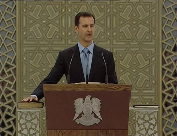 Tong thong Syria: Chien dich khong kich IS khong co tac dung hinh anh 1