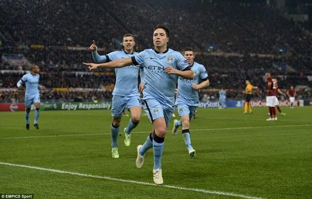 Ket qua Champions League: Man City gianh ve, Barca doat ngoi dau hinh anh 1