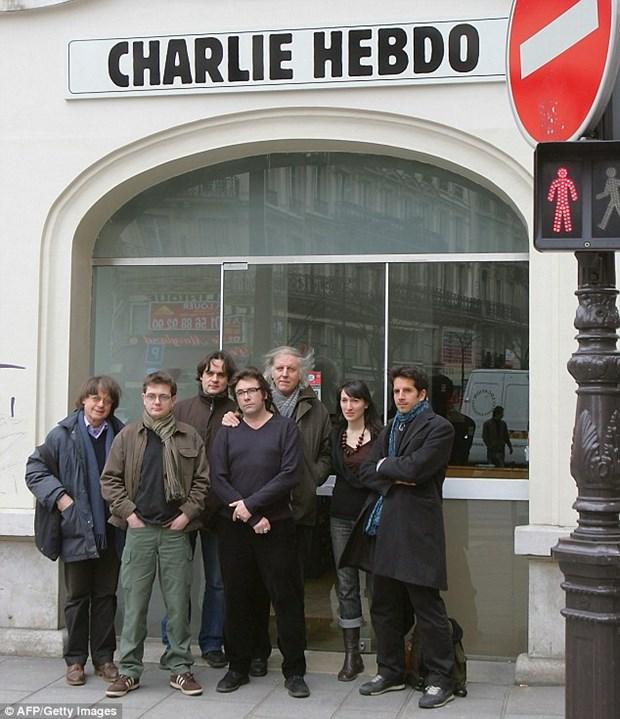 Chan dung nhung hoa si biem cua Charlie Hebdo bi sat hai hinh anh 1