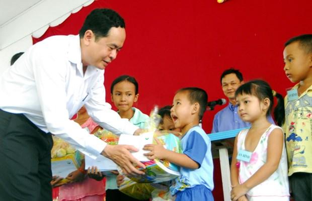 Ong Tran Thanh Man giu chuc Pho Chu tich chuyen trach MTTQ hinh anh 1