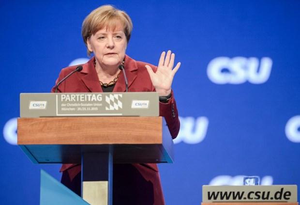 Time bau chon Thu tuong Duc Merkel la Nhan vat cua nam hinh anh 1