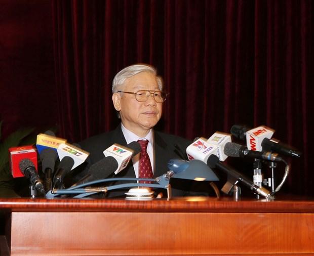 Tong Bi thu: Nguoi lam cong tac can bo phai liem chinh, trong sang hinh anh 1