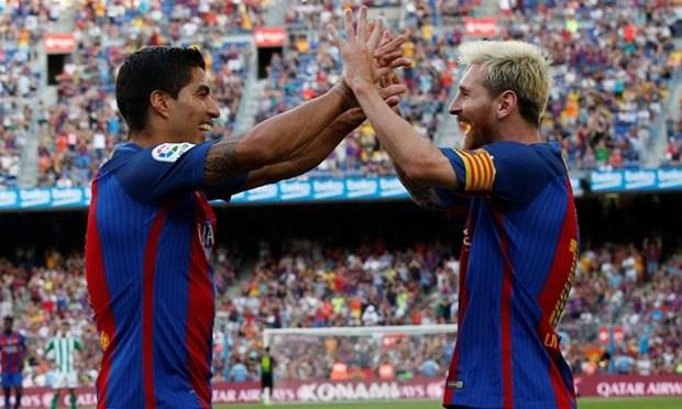 Ket qua bong da: Luis Suarez lap hat-trick, Higuain no sung hinh anh 1