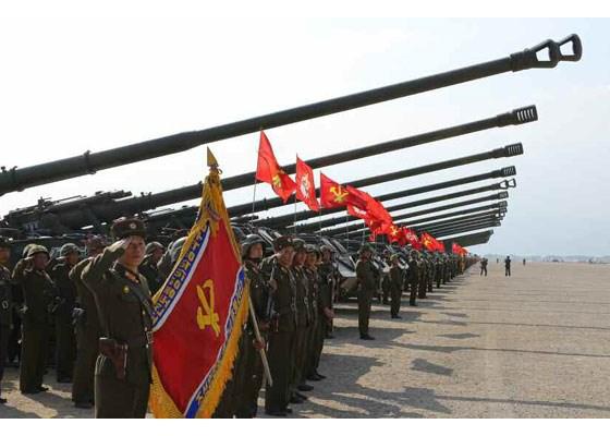 Can canh lanh dao Trieu Tien Kim Jong-un thi sat tap tran hinh anh 4