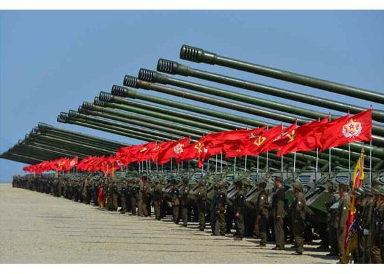 Can canh lanh dao Trieu Tien Kim Jong-un thi sat tap tran hinh anh 2