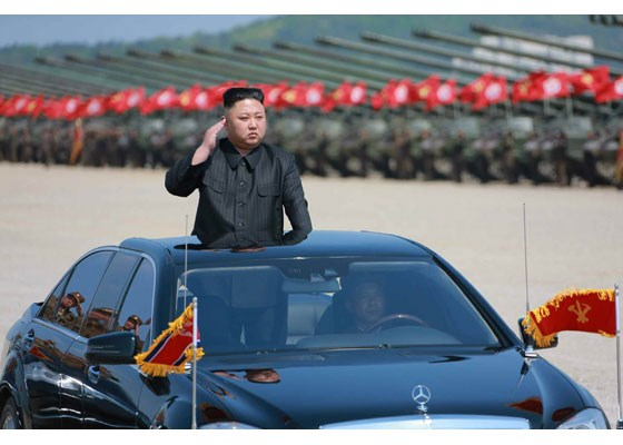 Can canh lanh dao Trieu Tien Kim Jong-un thi sat tap tran hinh anh 1